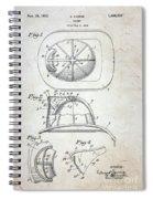Patent - Fire Helmet Spiral Notebook