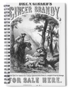 Patent Medicine, 1861 Spiral Notebook