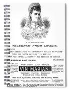 Patent Medicine, 1894 Spiral Notebook