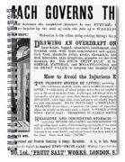 Patent Medicine: Stomach Spiral Notebook