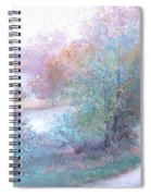 Path By The River Spiral Notebook