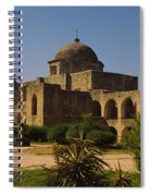 Path In Front Of A Church, Mission San Spiral Notebook