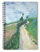 Path Leading To Ville D'avray Spiral Notebook