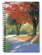 Path Of Change Spiral Notebook