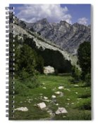Path Of Life Ruby Mountains Stock Trail Spiral Notebook