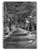 Path Through Eastern Spiral Notebook