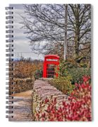 Path Through The Cotswolds Spiral Notebook