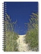 Path Through The Dunes Spiral Notebook