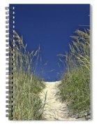 Path Through The Dunes Spiral Notebook