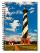 Path To Cape Hatteras Light Spiral Notebook
