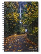 Path To Multnomah Falls Spiral Notebook