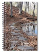 Path To Somewhere Spiral Notebook