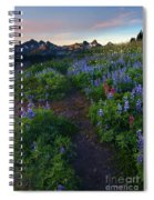 Path To Tatoosh Spiral Notebook