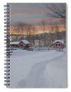 Path To The Barn Spiral Notebook