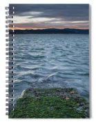 Path To The Bay Spiral Notebook