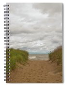 Path To The Beach 12058 Spiral Notebook