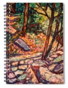 Path To The Cascades Spiral Notebook