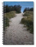 Path To The Dunes Spiral Notebook