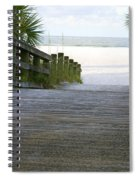 Path To The Empty Beach Spiral Notebook