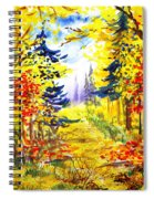 Path To The Fall Spiral Notebook
