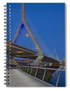 Path To The Leonard P. Zakim Bridge Spiral Notebook