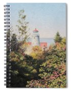 Path To The Light Spiral Notebook