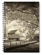Path To The Old Barn Spiral Notebook