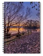 Path To The Serene Spiral Notebook