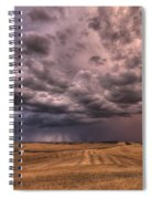 Path To The Storm Spiral Notebook