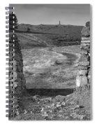 Path To The War Memorial Spiral Notebook