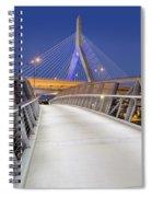 Path To The Zakim Bridge Spiral Notebook