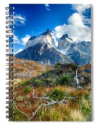 Path To Torres Del Paine Spiral Notebook