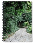 Pathway Of Monks Spiral Notebook