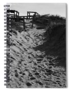 Pathway Through The Dunes Spiral Notebook