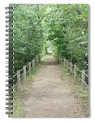 Pathway Through The Forest Spiral Notebook