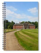 Pathway To Adlington Hall Spiral Notebook