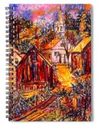 Pathway To Color Spiral Notebook