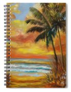 Pathway To The Beach 11 Spiral Notebook