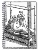 Patient And Nurse, 1646 Spiral Notebook