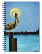 Patiently Fishing Spiral Notebook