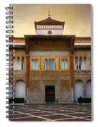 Patio De La Montaria II Spiral Notebook