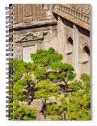 Patio De Los Naranjos Of Seville Cathedral Spiral Notebook