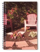 Patio Garden Spiral Notebook
