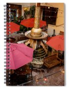 Patio Unbrellas Spiral Notebook
