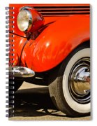 Patriotic Car Spiral Notebook