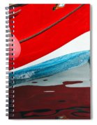 Patriotic Colours Spiral Notebook