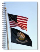 Patriotic Flags Spiral Notebook