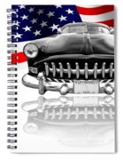 Patriotic Hudson 1952 Spiral Notebook