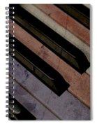 Patriotic Key Spiral Notebook