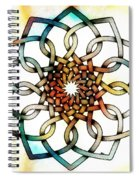 Pattern 18 Colourised Spiral Notebook